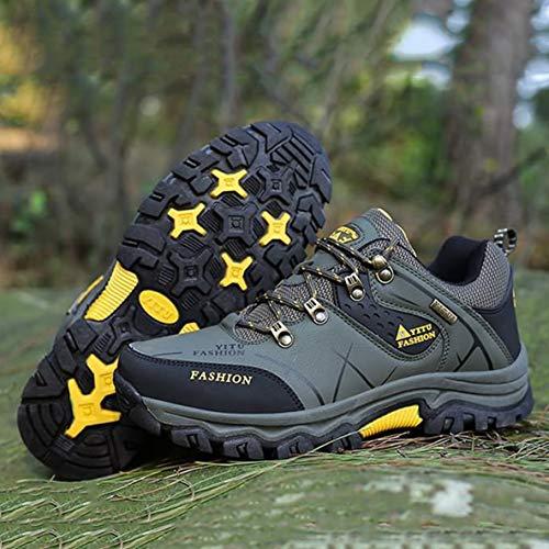 Sport Montagne Lacets En Randonnée Escalade Chaussures Air Respirantes Antidérapantes Yt585170 De Camping Moliies À Plein Hommes xHpFvwUnqS