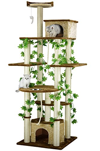 (Go Pet Club F2095 Cat Tree Furniture, 85-Inch )