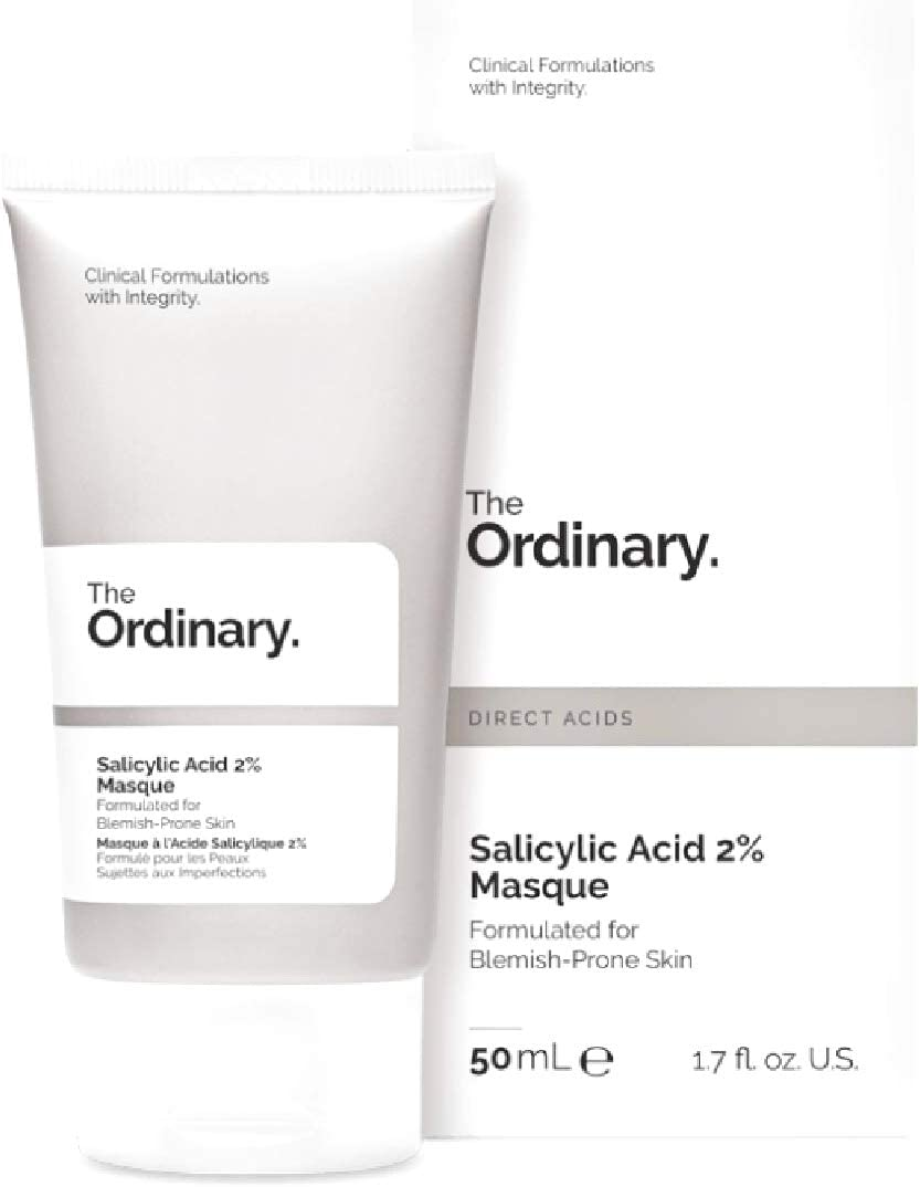 The Ordinary Salicylic Acid 2 Masque With Vegetable Charcoal Amazonian Clays And Squalane Alcohol Oil Silicone Nut And Gluten Free Vegan Amazon Co Uk Beauty
