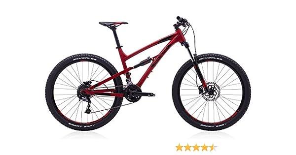 Polígono bicicletas, siskiu D5, rojo, Full de suspensión para ...