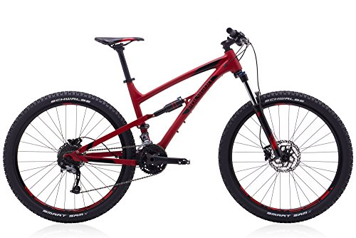 Polygon Bikes, Siskiu D5, Medium, 17 inch, Red, Full Suspension Mountain Bike