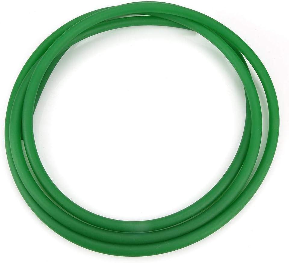 PU Transmission Drive Belt High-Performance Urethane Round Belting.Green Rough Surface PU Polyurethane Round Belt for Drive Transmission 3mm*10m