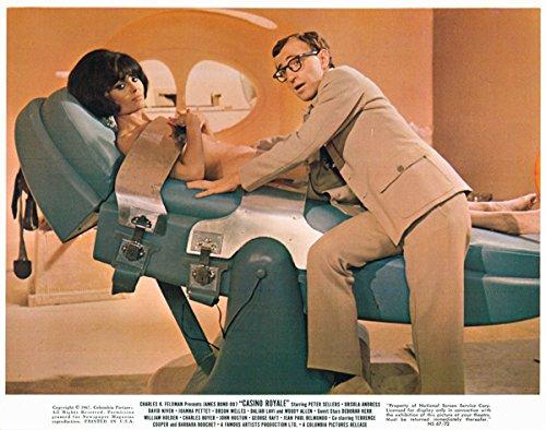 Casino Royale Original James Bond Lobby Card Daliah Lavi nude Woody Allen 1967 from Silverscreen