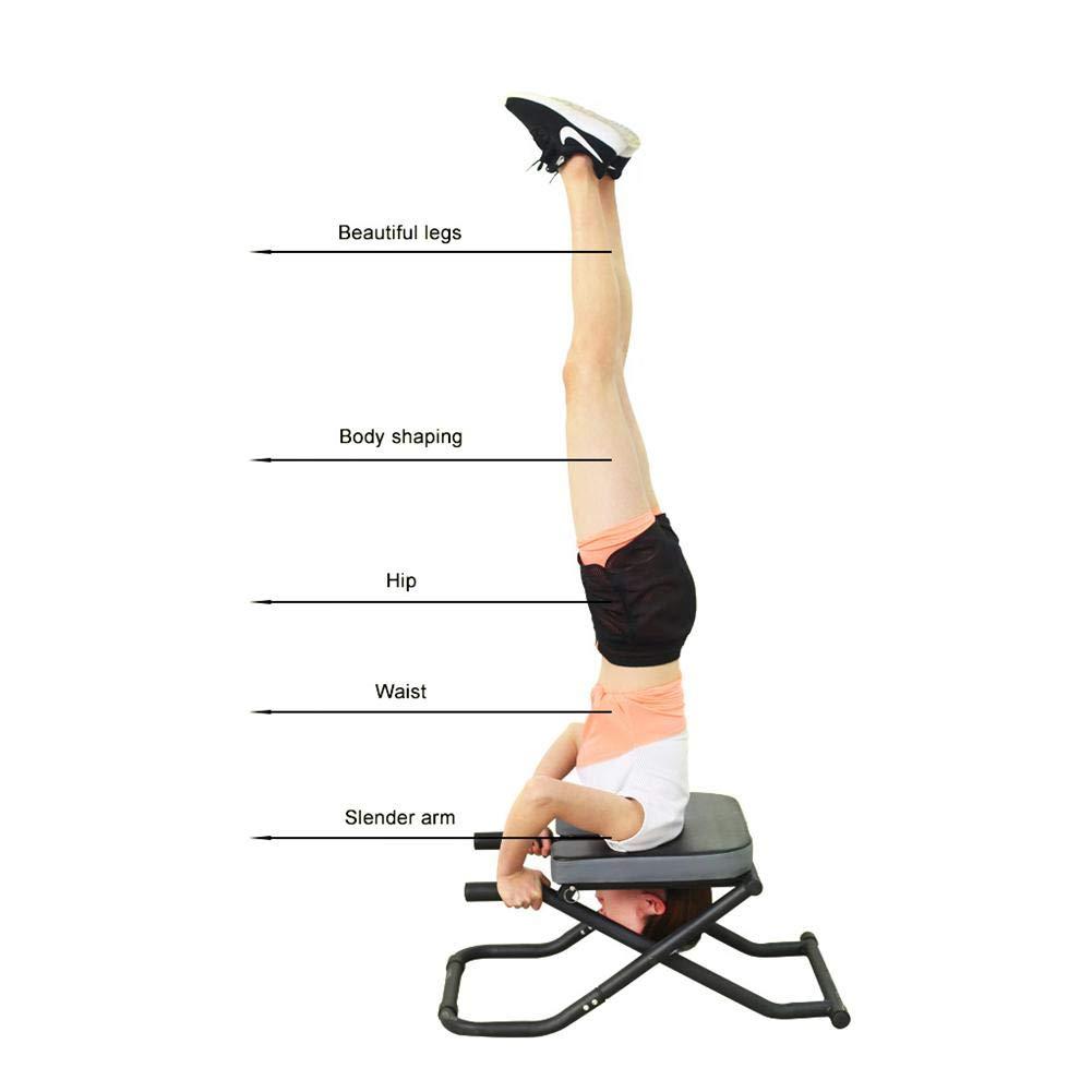 Amazon.com: Depruies Yoga Headstand Bench Yoga Inversion ...