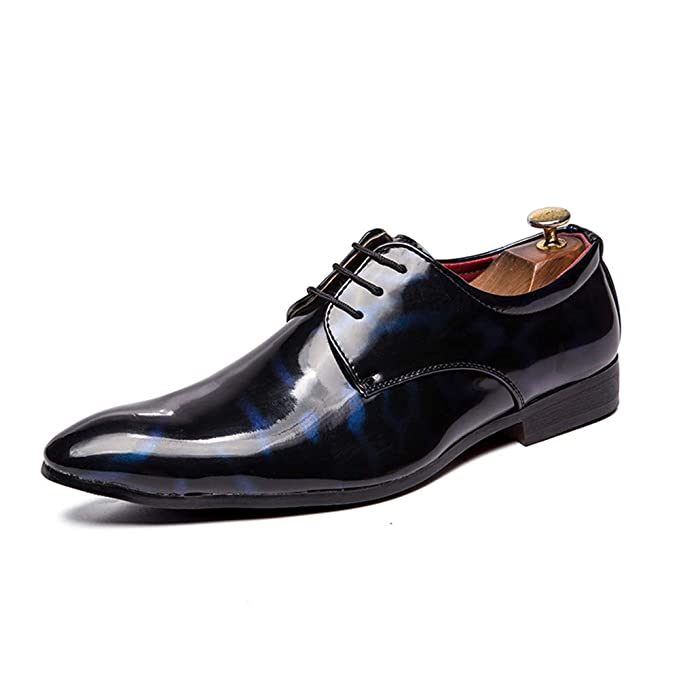 74a5c807f2434 Amazon.com: Gobling Men's Casual Dress Shoes, Lace Up Oxfords ...