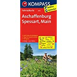 Aschaffenburg - Spessart - Main: Fahrradkarte. GPS-genau. 1:70000 (KOMPASS-Fahrradkarten Deutschland, Band 3072)