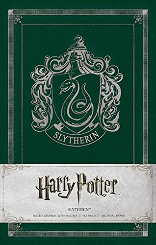 Harry Potter Slytherin Hardcover Ruled Journal: Slytherin, Ruled (Insights Journals)