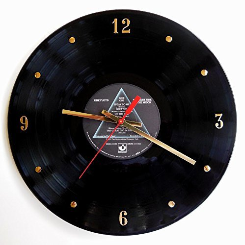 Record Clock - Pink Floyd (The Dark Side Of The Moon). Handmade 12