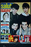 SALUT ! 274 MARS 1986 COVER INDOCHINE CHARLOTTE GAINSBOURG NIAGARA SANDRA SIMPLE MINDS RENAUD