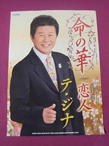買取】E1350珍品ポスター演歌歌手 テジナ「命の華恋人」[ポスター ...
