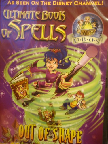 """DVD """"Ultimate Book of Spells: Out of Shape"""" Seen on the Disney Channel..90 Minutes."""