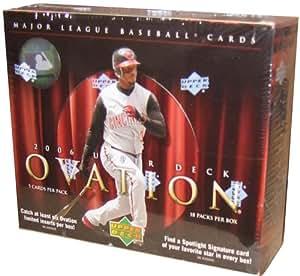 2006 Upper Deck Ovation Baseball HOBBY Box - 18P5C