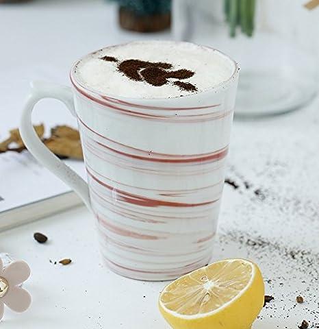 La taza de café de cerámica manualmente equipadas con menaje ...