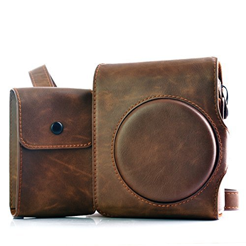 HelloHelio Classic Vintage Leatherette Compact