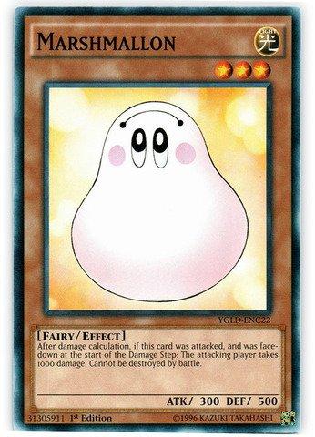 Yu Gi Oh Card Binder - Yu-Gi-Oh! - Marshmallon (YGLD-ENC22) - Yugi's Legendary Decks - 1st Edition - Common