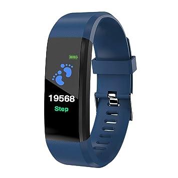Gazechimp Smartwatch Mujer Reloj Cuenta Pasos Reloj ...