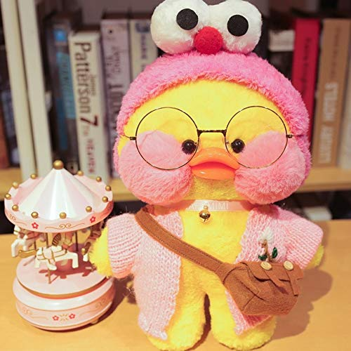 TREGIA New I Duck Plush Toy Cute Animal Yellow Duck Soft Hair Doll Toy Christmas Birthday Gift Children Girl Decoration Teen Must Haves 2 Year Old Girl Gifts Girl S Favourite Superhero Birthday by TREGIA
