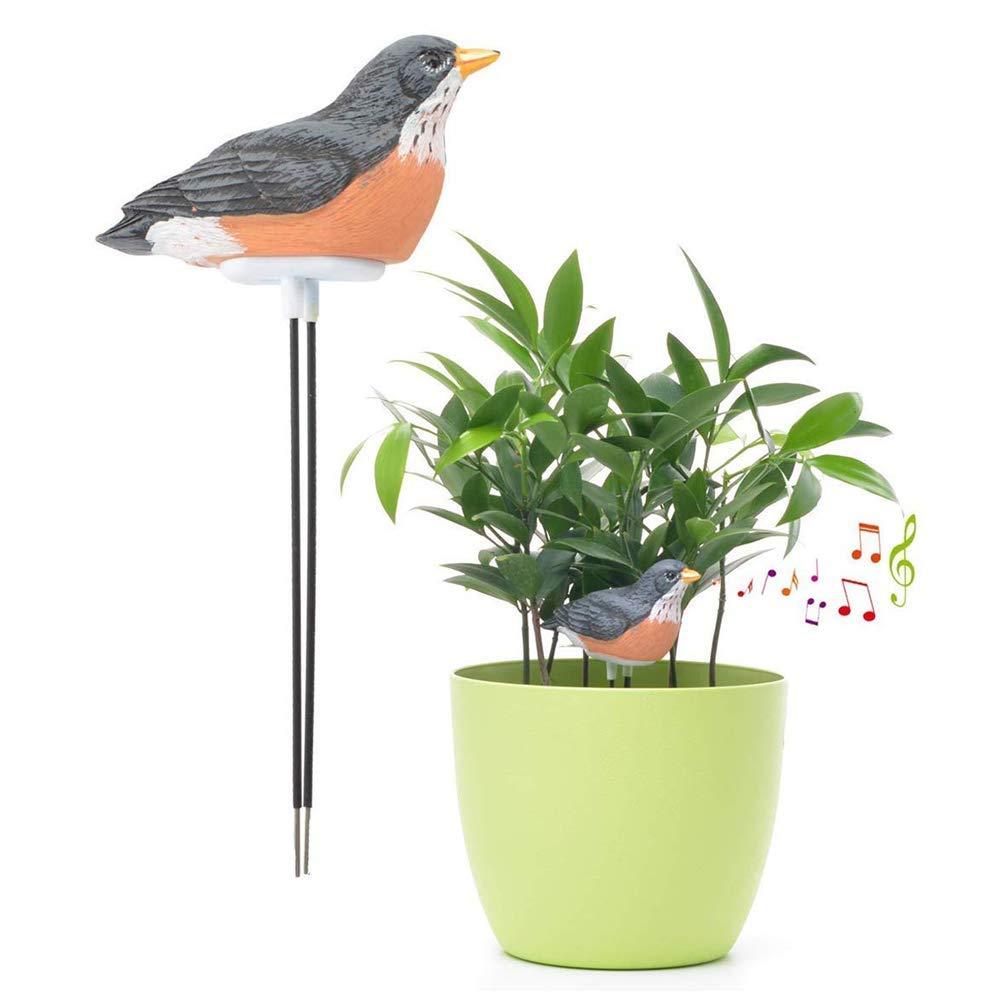 Akeny Flower Pot Moisture Test Alarm Plant Soil Moisture Water Tester Hygrometer Sensor