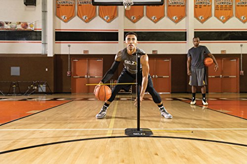 SKLZ Trainingsgerät Dribble Stick Basketball Trainer, Gelb/Schwarz, NSK000046