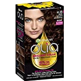 Facial Hair Dye - Garnier Olia Ammonia Free Hair Color [4.35] Dark Golden Mahogany 1 ea
