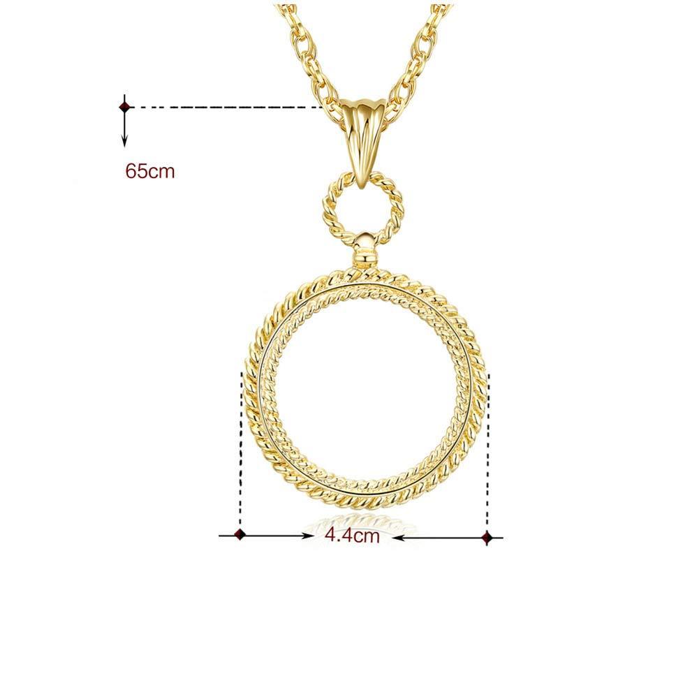 Amazon com: Aon-MX Glass Lens Magnifier Necklace Portable