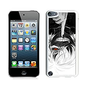iPod Touch 5 Case ,Unique And Fashionable Designed Case With Tokyo Ghoul Mask 2 White For iPod Touch 5 Phone Case