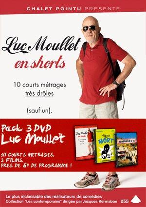 Luc Moullet Collection - 3-DVD Set ( Le prestige de la mort / Les naufragés de la D17 / Un steack trop cuit / L'empire de Médor / Essai d'ouverture / Cabale des oursins / Toujours [ NON-USA FORMAT, PAL, Reg.0 Import - France ]