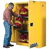 Justrite 45 Gallon Cabinet Manual Door Flammable