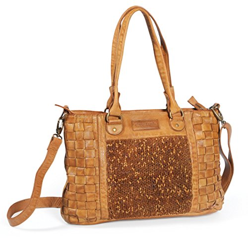Greenland Femi & Nine Ladies Bag Sac à main cuir 42 cm