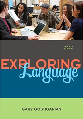 Amazon exploring language 12th edition 9780205672660 gary exploring language 12th edition 12th edition fandeluxe Image collections