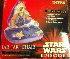 Amazon Com Star Wars Episode I Jar Jar Chair Vinyl
