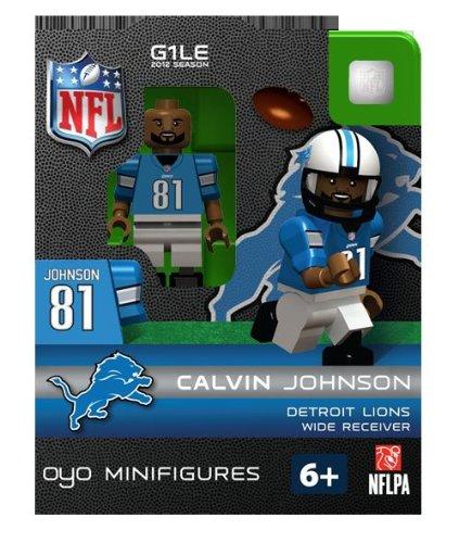 NFL Detroit Lions Calvin Johnson (Detroit Lions Figurine)