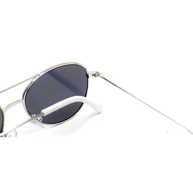 Mädchen Piloten-Stil Sonnenbrille Schmetterlinge und Blumen Brillen UV400 UVA rg1tPt