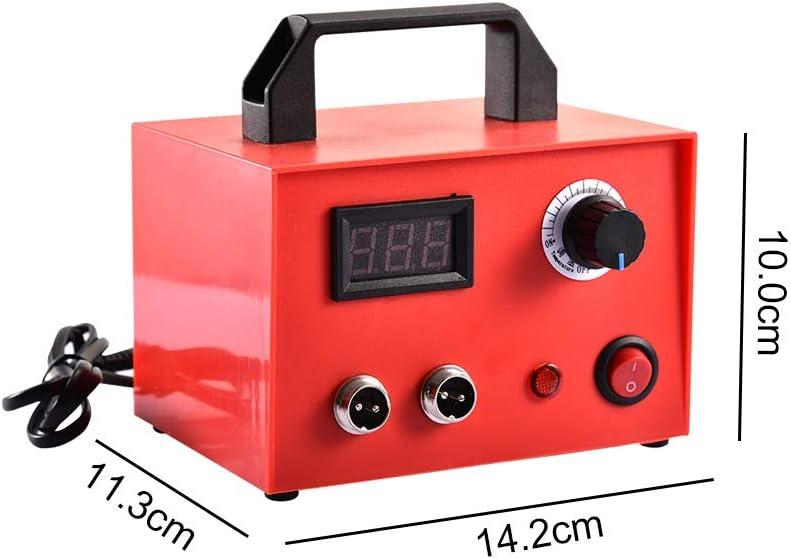 Professionel Schnitzen der brennenden Brandmalerei-Maschine Holz Handwerk Tool Kit mit 23 St/ück Brandschutzspitzen TOPQSC Digital Pyrographie Maschine 220V 25W Holzverbrennung Maschine Kit
