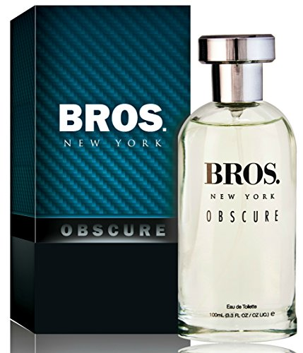 Bros. New York Obscure Eau De Toilette Spray, 3.3 Ounces 100 Ml - Scent Similar to Bottled Night By Boss