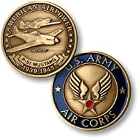 P-51 Army Air Corps Bronze Antique