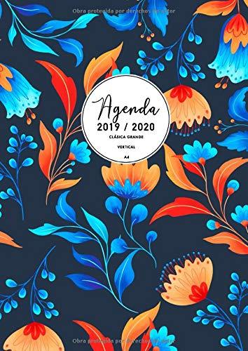 Agenda Clásica Grande 2019-2020: Agenda Semana Vista ...