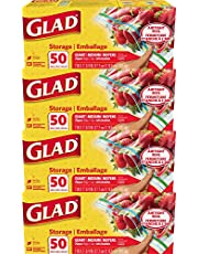 Glad Food Storage and Freezer 2 in 1 Zipper Bags