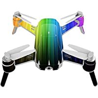 Skin For Yuneec Breeze 4K Drone – Rainbow Streaks | MightySkins Protective, Durable, and Unique Vinyl Decal wrap cover | Easy To Apply, Remove, and Change Styles | Made in the USA