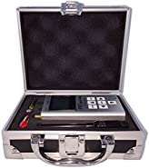 EMR Shielding Solutions RF Explorer ISM Combo With Aluminium Carrying Case + 30dB Attenuator & SMA Termination Male - Free Downloadable Software for Windows and Mac for RF and Wi-Fi Analyzing