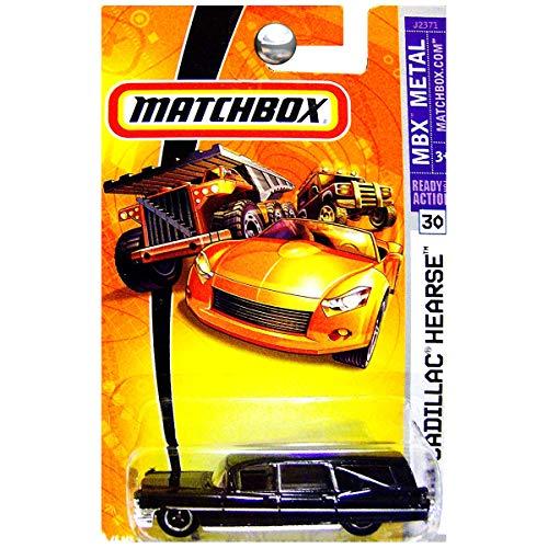 Matchbox 2007 MBX Metal 1963 Cadillac Hearse Funeral Black #30
