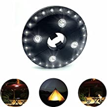 WOPS® Patio Umbrella Light, Cordless 28 LED Night Lights, 3 Lighting Modes Decorative Hanging Ornaments, Battery Operated Umbrella Pole Light for Patio Umbrellas, Camping Tents or Outdoor Use