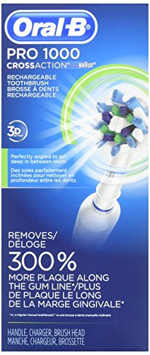 Oral B Pro 1000 Power Rechargeable Toothbrush