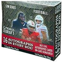 $199 » 2021 SAGE Hit Premier Draft Low Series Football box (16 pks/bx, ONE Autograph card/pk)