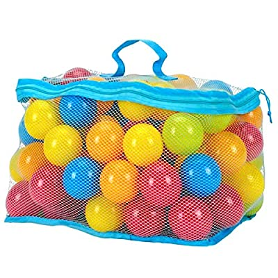 OhhGo 100Pcs/Set 6cm Multi-Colors Ocean Balls Set Baby Toddler Kids Toys: Home & Kitchen