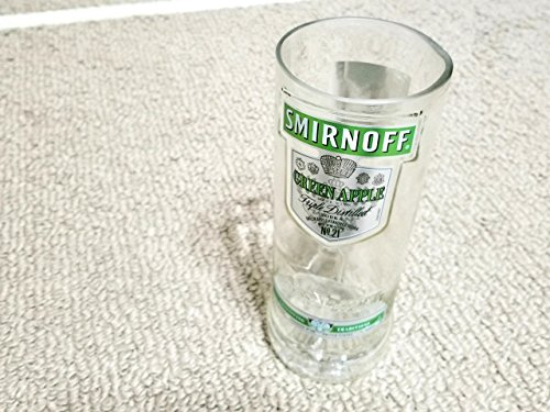 smirnoff-kitchen-glassware-made-from-an-up-cycled-recycled-vodka-bottle-9-tall-holds-35-ounces