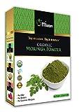 mi nature USDA Certified Organic Moringa Leaf Powder, Moringa Oleifera Powder (100% Natural, ORGANICALLY Grown) (227g/(1/2 lb) Non-GMO, Guaranteed Purest, 100% Raw Moringa Review