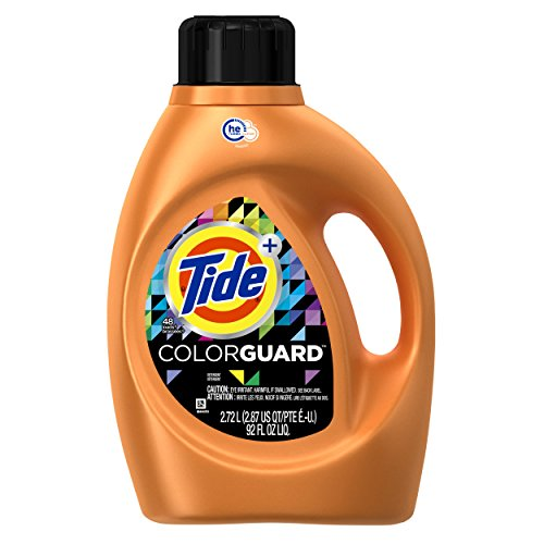 Tide Plus Colorguard High Efficiency Liquid Laundry Detergent, 48 Loads, 92 - New Tide Product