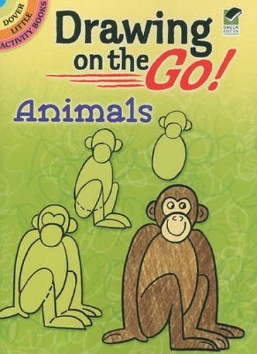 Drawing on the Go! Animals (Dover Doodle Books)