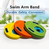 Mayzo Arm Float Discs Kids,Corlorful Lightweight Foam Swim Arm Band Set Swim Training Tools,EVA Swimming Armbands Pool( 6Pcs/Set)